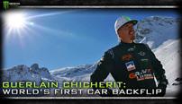 Monster Energy: Guerlain Chicherit gelingt erster Backflip mit einem Auto