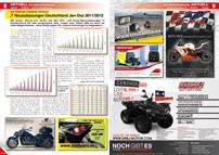 ATV&QUAD Magazin 2013/03-04, Seite 8-9: Neuzulassungszahlen Deutschland Jan-Dez 2011 / 2012
