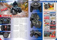 ATV&QUAD Magazin 2013/03-04, Seite 22-23, Präsentation TGB Blade: Neues Gesicht