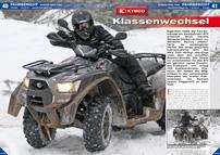ATV&QUAD Magazin 2013/03-04, Seite 40-43, Fahrbericht Kymco MXU 700i: Klassenwechsel