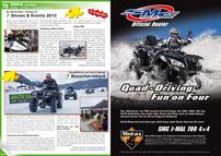ATV&QUAD Magazin 2013/03-04, Seite 72-73, Szene Schweiz, SL Motorbike / Motax.ch: Shows & Events 2013; Quadfahren auf Eis in Davos: Besucherrekord