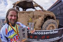 GORM 2013, 1. Lauf in Rottleben: Arndt Geyer gewinnt auf Can-Am Commander 1000 X vom Parthen PowerSports Team mit drei Runden Vorsprung