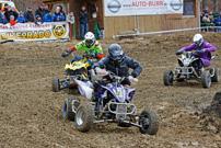 Deutsche MotoCross Quad Meisterschaft 2013, Auftakt in Schnaitheim: Cappuccio (990), Hohmann (56), Haas (131)