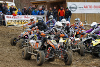 Deutsche MotoCross Quad Meisterschaft 2013, Auftakt in Schnaitheim: Start, 1 Davy de Cuyper
