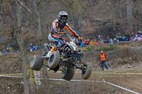 DMX Deutsche MotoCross Quad Meisterschaft 2013, 3. und 4. Lauf in Aufenau: Manfred Zienecker, jetzt DM-Zweiter
