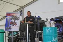 Abenteuer & Allrad 2013, Präsentation Quad of the Year: ATV&QUAD Herausgeber Immo Dubies präsentiert die Gewinner des Awards Quad of the Year 2013