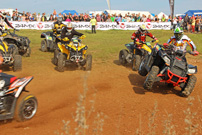German Cross Country GCC 2013, 3. Lauf in Marisfeld: Gerangel bei ATVs und Quads