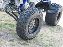 Yamaha YFZ 450R, Modell 2014: verbessertes Fahrwerk und neue Räder