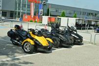 Can-Am Spyder Challenge 2013: Werksbesuch bei BRP-Powertrain