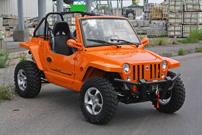 Quadix Buggy 800: jetzt mit Willys-Jeep-Front UND Türen