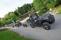 Quadtreffen 2013 in Pullman City in Eging am See: Aufklärung über die bemerkenswerten Fähigkeiten von Side-by-Sides, ATVs und Quads