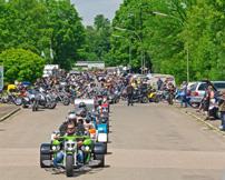 Trike Festival TMT 2013: Ausfahrt mit 145 Trikes