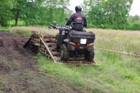 Oste-Hamme Treffen 2013: Spielwiese mit Hügel aus Euro-Paletten