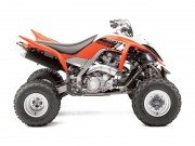 Raptor Decors 2014: Yamaha YFM700R in Blaze Orange