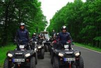 Arche Quad Tour 2013: auf 6 Polaris ATVs rund 2.500 Kilometer durch Deutschland getourt für mehr Chancengleichheit unter den Kindern