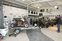 Jochum Motors, Showroom: ATV- und Quad-Kompetenz an der Nahe