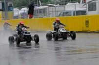 Austrian SuperMoto Quad Masters 2013, Finale in Melk: Oliver Babun (2) gewinnt Start gegen Martin Tauber