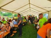 Sonny´s Quadtreffen 2013: Für Verpflegung hatten der Siedlerverein St. Georgen am Walde und die Mühlviertler Quadfreunde gesorgt