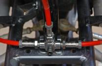 Melvin Stahlflex Bremsleitungen mit ABE für Quads: 9 Farbvarianten für die Ummantelungen