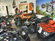 Der Quadhändler im Kraichgau: Showroom von QCK in Sinsheim