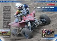 ATV&QUAD Magazin 2013/11-12, Seite 22-23, Test Yamaha YFZ 450R: Dauerbrenner