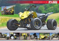 ATV&QUAD Magazin 2013/11-12, Seite 42-43, Poster: Rockstar Suzuki