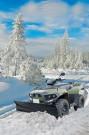Schneeschild für ATVs von Cectek: Winterdienst-Paket für die Gladiator T5 und T6 sowie für die KingCobra ix T5