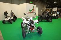EICMA 2013, Stand von Access Motor