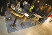EICMA 2013, mbm Marcello Baroli: Bike-Teile fürs Wohnzimmer