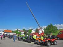 Glückliche Kinderherzen Tour 2014: ist in diesem Jahr in den Tag der offenen Tür der Freiwilligen Feuerwehr Weilimdorf eingebunden