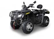 Hisun Händlernetz in Deutschland und Österreich: Topmodell 'ATV 800 V2 EFI EPS 4x4' für 9.799 Euro