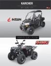 Hisun Dinli Prospekt 2014: nicht weniger als 20 ATV-, Quad- und UTV- / Side-by-Side-Modelle auf 22 Seiten