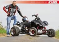 ATV&QUAD Magazin 2014/03-04, Seite 50-51; Tuning, Linsner LT-Z 'Schwarze Pest': Poster