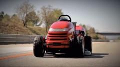 Honda Mean Mower als schnellster Rasenmäher der Welt: gebaut für mehr als 200 km/h Topspeed