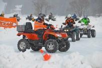 9. Quadfahren auf Eis 2014: Glatteis in Davos; Bild: Kevin Dozer Gundi