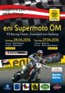 1. Lauf der SuperMoto Austria 2014 am 26. und 27. April: im PS Racing Center in Greinbach als einer der schnellsten SuperMoto-Pisten in Österreich