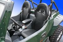 Mehr Platz im Buggy: Ab sofort sind die Sitze in den Quadix Buggys um 6,5 cm weiter nach hinten verstellbar, außerdem kommen bequemere Schalensitze als bisher zum Einsatz