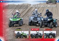 ATV&QUAD Magazin 2014/05-06, Seite 38-39; Vergleichstest 700 Kubik ATVs: Reich der Mitte