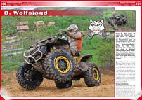 ATV&QUAD Magazin 2014/05-06, Seite 100-101, Rennsport; Jag den Wolf 2014: 8. Wolfsjagd