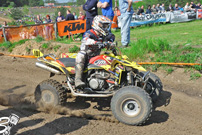 DMX Deutsche MotoCross Quad Meisterschaft 2014, 2. Lauf in Wriezen: Joe Maessen; Foto: Natan Prokes