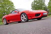 Fursten Forest: jetzt auch Ferrari fahren
