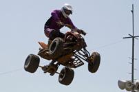 DMX Deutsche MotoCross Quad Meisterschaft 2014, 6. DMX Lauf 2014 in Tessin: Julian Haas als bester Deutscher in Tessin