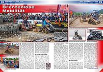 ATV&QUAD Magazin 2014/07-08, Seite 28-29, Präsentation Ziesel: Grenzenlose Mobilität