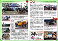 ATV&QUAD Magazin 2014/07-08, Seite 108-109, Erlebnis; Abenteuer & Allrad: Erneuter Besucher-Rekord; Touratech: Travel Event setzt neue Maßstäbe; 5. Route Harz: Buggy-Treffen in der Westernstadt