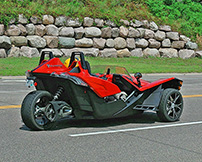 Polaris LineUp 2015, Slingshot: KTM X-Bow lässt grüßen