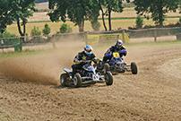 3. Quad Challenge Lauf 2014 in Angenrod am 19. und 20. Juli, Klasse 4: Matthias Hahnke gegen Detlef Brüner