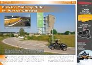 ATV&QUAD Magazin 2014/09-10, Seite 52-53, Einsatz Elektro UTV beim Häuslebauer: Elektro Side-by-Side im Werks-Einsatz