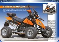 ATV&QUAD Magazin 2014/09-10, Seite 66-69, Tuning, Frauenschuh E.-ATV: Esoterik Power; Frauenschuh HighTech Tuning: Der KTM Tuning-Guru