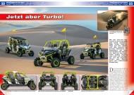 ATV&QUAD Special 2015 Ausrüstung • Zubehör • Tuning, Seite 22-25, Präsentation Can-Am Maverick X ds: Jetzt aber Turbo!
