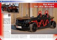 ATV&QUAD Special 2015 Ausrüstung • Zubehör • Tuning, Seite 32-35, Präsentation SKT Roadkart: Go-Kart für die Straße
